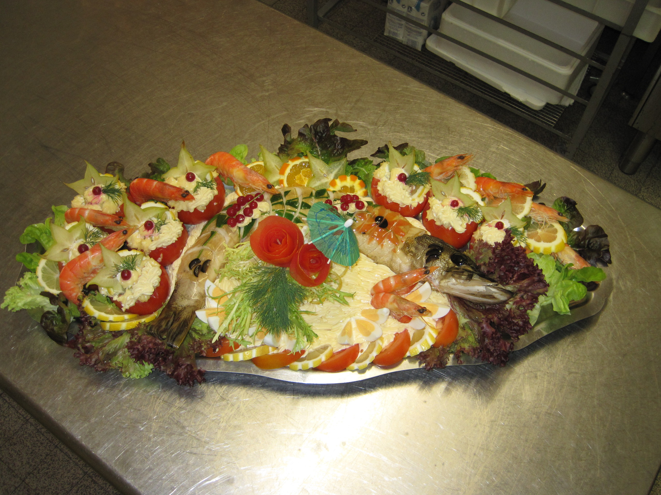 Poissons froids recontit s pour vos repas charcutier for Prix entree poisson rouge wintzenheim